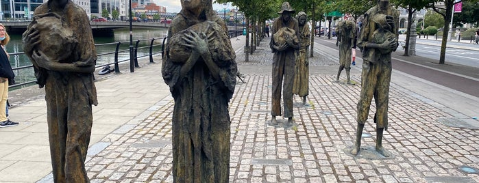The Famine Memorial is one of Dublin.