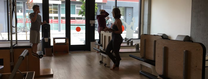 Pilates on Page is one of SF to-do.