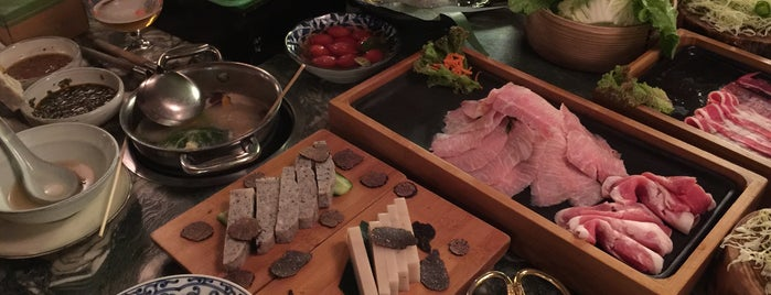 Qimin Organic Hotpot is one of Orietta 님이 저장한 장소.