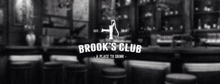 Brook's Club is one of Tempat yang Disimpan Seniora.