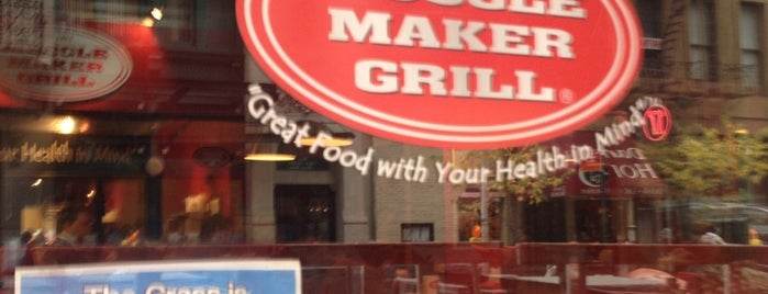Muscle Maker Grill is one of New York.