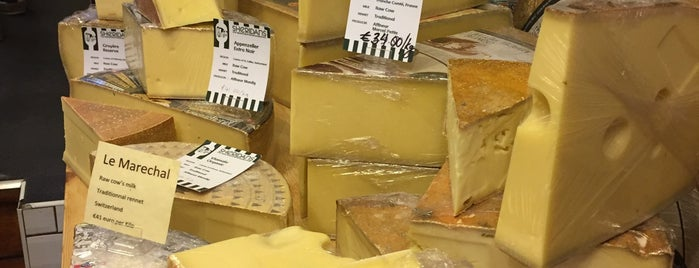 Sheridan's Cheesemongers is one of The Ultimate Guide to Dublin.