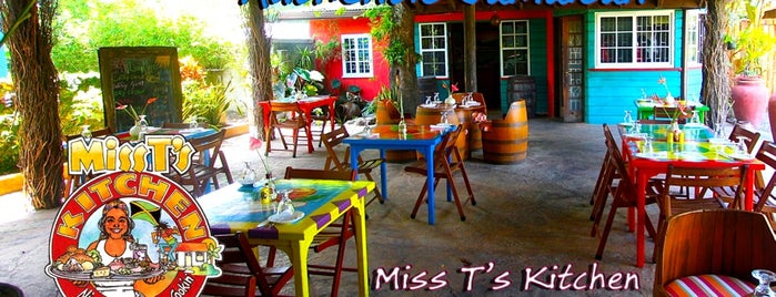 Miss T's Kitchen is one of Jamaica Trip.