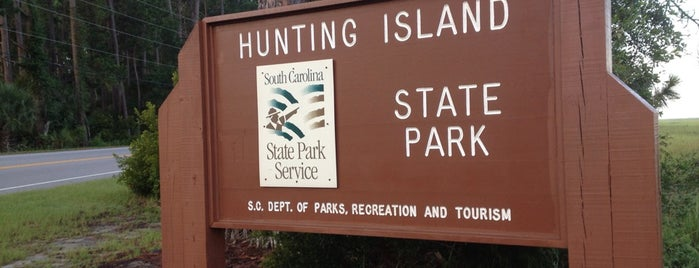 Hunting Island State Park is one of Charleston, SC.