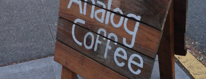 Analog Coffee is one of Seattle.
