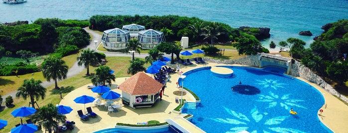 ANA InterContinental Manza Beach Resort is one of สถานที่ที่ Joyce ถูกใจ.