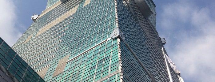 Taipei 101 is one of สถานที่ที่ Joyce ถูกใจ.