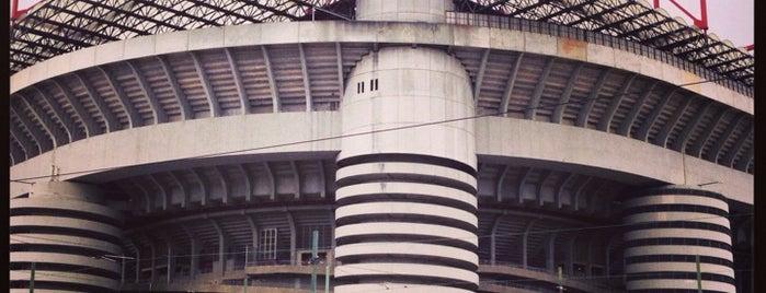 """Stadio San Siro """"Giuseppe Meazza"""" is one of 101Cose da fare a Milano almeno 1 volta nella vita."""