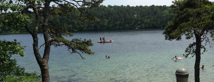 Long Pond is one of The Cape's Armpit.