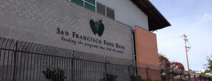 San Francisco Food Bank is one of Gespeicherte Orte von Diandra.