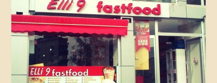 Traki Cafe - Elli 9 Fastfood is one of Baranoğlu cafe pastane restorant.