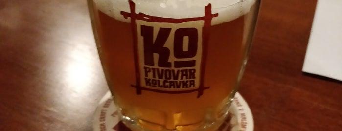 Pivovar Kolčavka - zahradní restaurace is one of Lieux qui ont plu à Андрей.