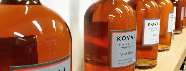 Koval Distillery is one of Chicago.
