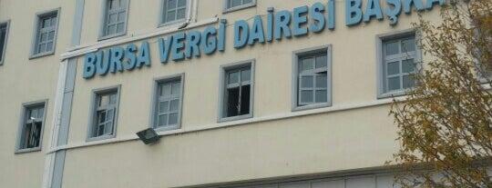 Bursa Vergi Dairesi Başkanlığı is one of สถานที่ที่ Erkan ถูกใจ.