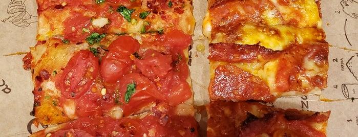 Bonci Pizzeria is one of Gespeicherte Orte von Katie.