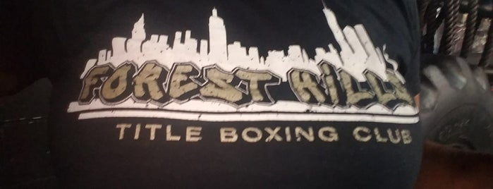 TITLE Boxing Club Forest Hills is one of To Fly For.