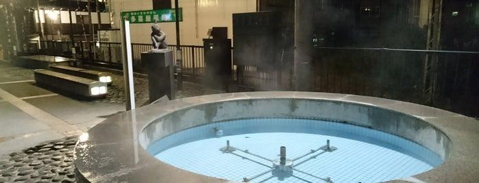 宇奈月温泉 温泉噴水 is one of Posti che sono piaciuti a 高井.