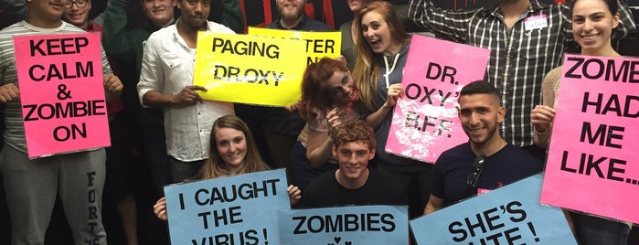 Room Escape Adventures - With a Zombie is one of vv: escape rooms / puzzle rooms in nyc.
