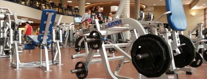 Ambler Student Recreation Fitness Center is one of Jayhawk Journey.