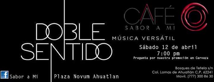 Sabor a Mi, Ahuatlan is one of Locais salvos de Gil.