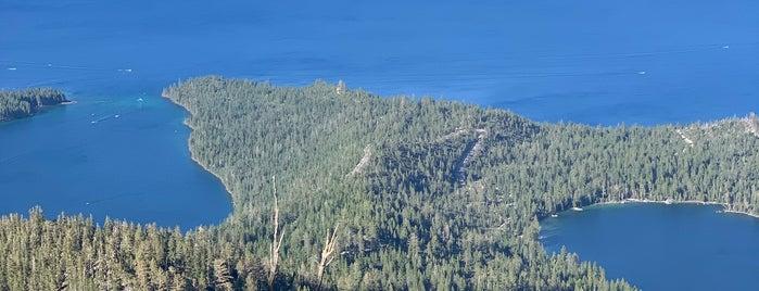 Maggie's Peak is one of Tahoe.