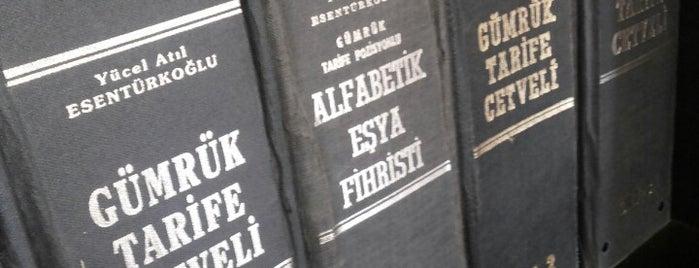 Tancan Gümrük Müşavirliği is one of Tempat yang Disukai Tan.