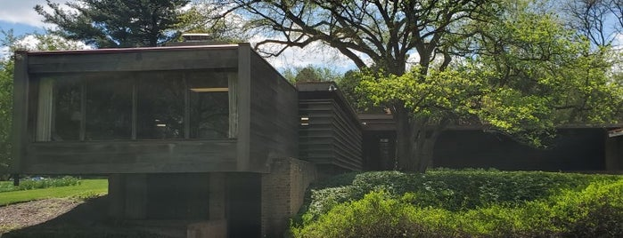 Paul Schweiker Home and Studio is one of Illinois's Greatest Places AIA.