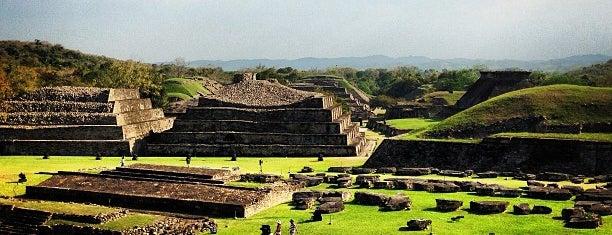 Zona Arqueológica El Tajín is one of Sitios Internacionales.