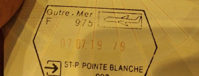 Aéroport de Saint-Pierre Pointe-Blanche is one of Airports~Part 2....