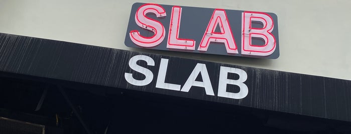 Slab BBQ is one of Locais salvos de Whit.