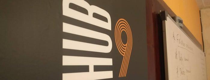 HUB9 CoWorking Space is one of THE Z WORLD : понравившиеся места.