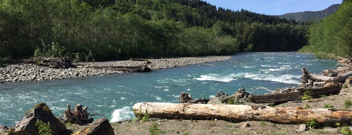 Elwha River is one of Olympic National Park 💚.