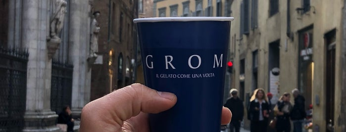 Grom is one of Locais curtidos por Alan.