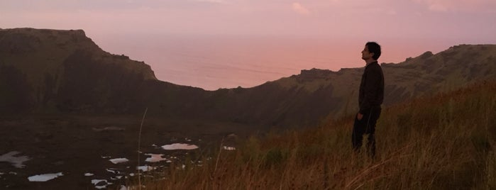 Rano Kau Vulcan is one of Orte, die Alan gefallen.