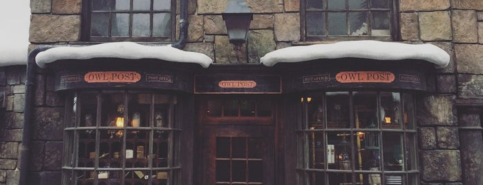 The Wizarding World Of Harry Potter - Hogsmeade is one of Tempat yang Disukai Alan.