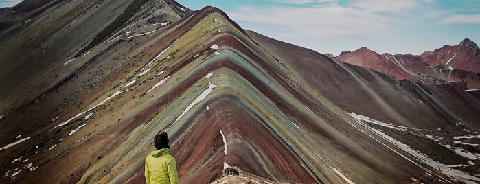 Vinicunca (Montaña de Siete Colores) is one of Alanさんのお気に入りスポット.