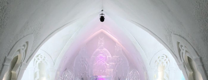 Hôtel de Glace is one of Alan 님이 좋아한 장소.