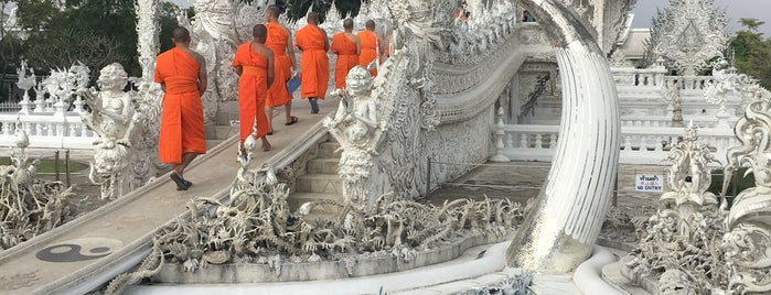 Wat Rong Khun is one of Locais curtidos por Alan.