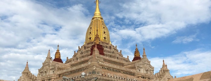Ananda Pagoda is one of Lugares favoritos de Alan.