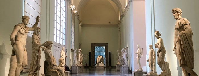Museo Archeologico Nazionale is one of Lugares favoritos de Alan.