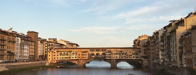 Ponte Vecchio is one of Lieux qui ont plu à Alan.