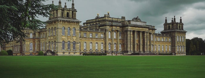 Blenheim Palace is one of Lieux qui ont plu à Alan.