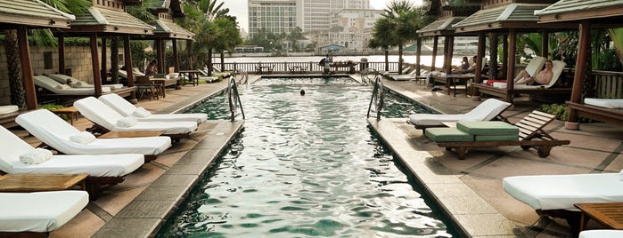 The Peninsula Bangkok is one of Orte, die Alan gefallen.