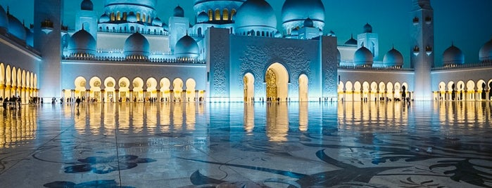 Sheikh Zayed Grand Mosque is one of Alanさんのお気に入りスポット.