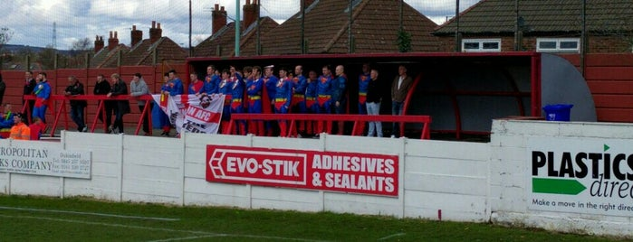 Ashton United FC is one of Non-League Football Grounds (Northern).