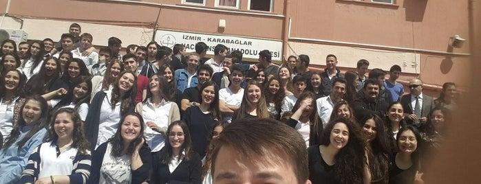 Naci Şensoy Anadolu Lisesi is one of Cem Yılmaz 님이 저장한 장소.