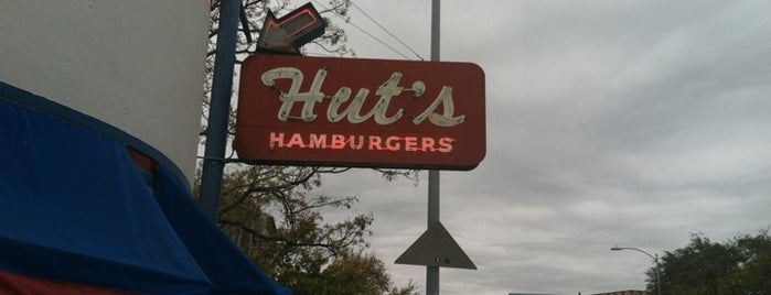 Hut's Hamburgers is one of Favorite Finds - Austin.