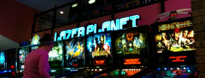 The Arcade is one of Pinball Destinations.