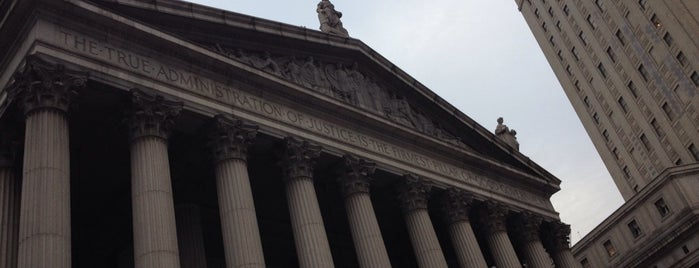 New York Supreme Court is one of Scenes from the City.