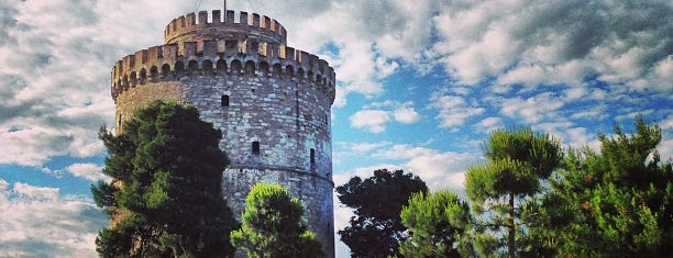 White Tower is one of Thessaloniki.